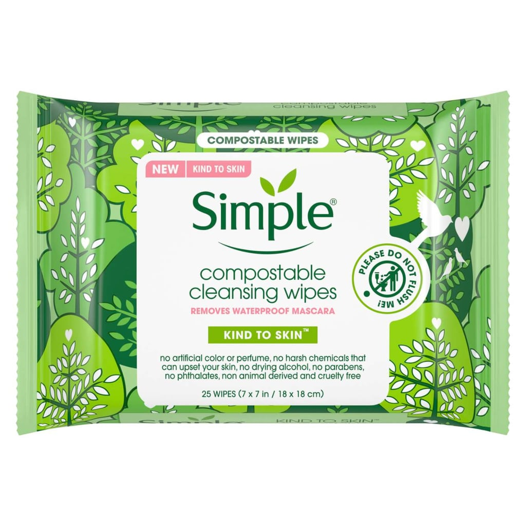 Simple Skincare Compostable Cleansing Wipes