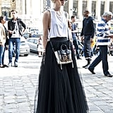 A tulle skirt is major — save it for the ballet!