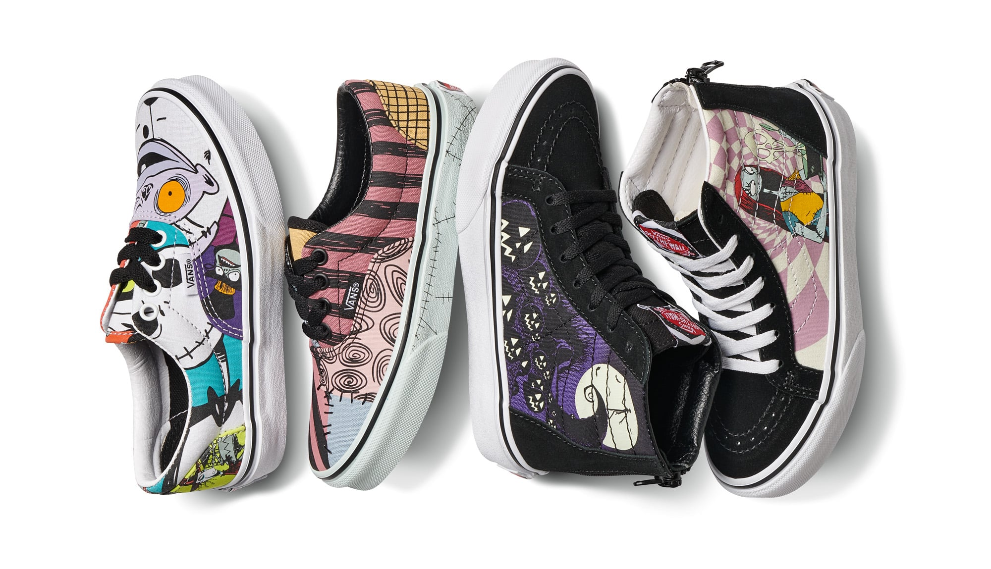 Shop Vans's Entire Nightmare Before Christmas Collection ...