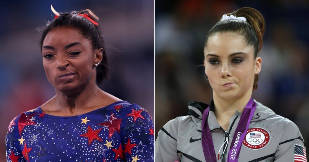 "Simone Biles ""Not Impressed"" Face Is Like McKayla Maroney's"