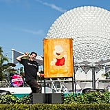 Live Artists Create Colorful Masterpieces Throughout Epcot Everyday