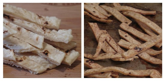 How to Bake Tortilla Strips