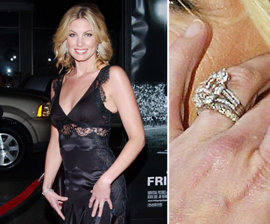 faith hill celebrity engagement ring pictures popsugar