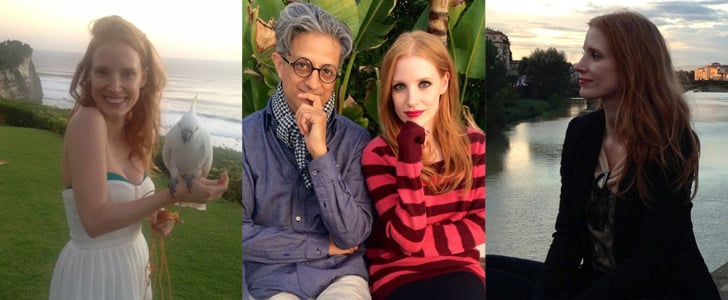 "Why We Are in ""Like"" With Jessica Chastain's Facebook Page"