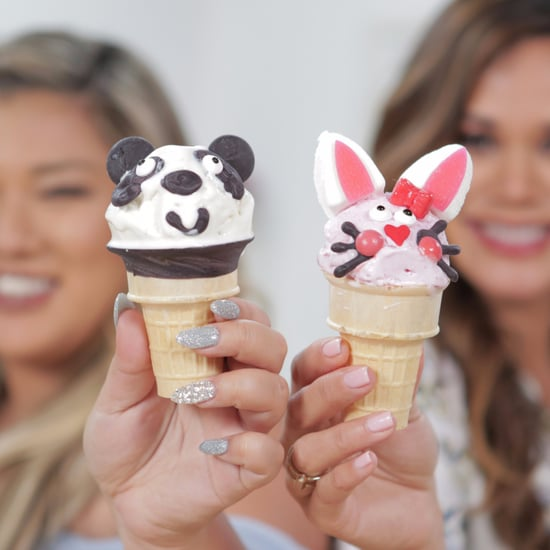 Bunny and Panda Ice Cream Cones