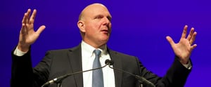 LA Clippers Owner Steve Ballmer Is Ousting iPads, Sticking With Microsoft