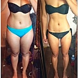 Another inspiring transformation after completing the first Bikini Body Guide.