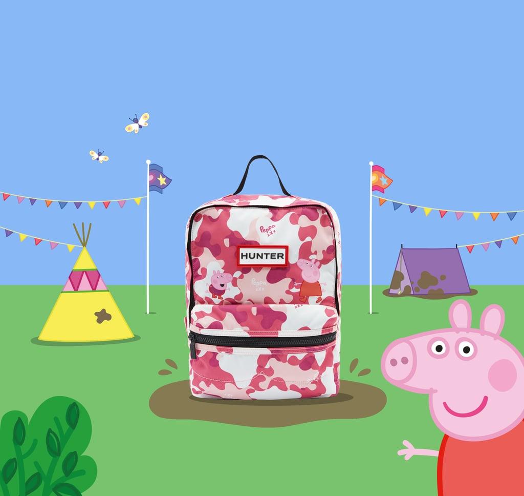 Hunter X Peppa Pig Backpack Pink Hunter Boots Peppa Pig