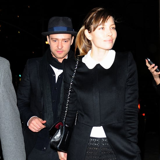 Jessica Biel Wears See-Through Pants With Justin Timberlake