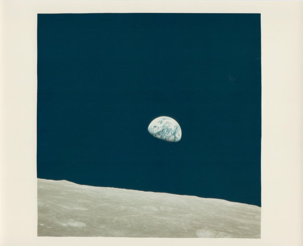 Earthrise, the First Ever Witnessed by Human Eyes