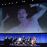Neil Patrick Harris's shirtless antics made up for his absence.