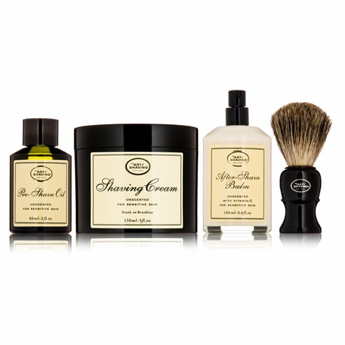 Grooming is key, and this luxe shaving kit is an essential gift for your dad.  The Art of Shaving 4 Elements Kit ($100)