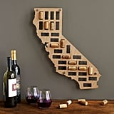 Wine Cork States Art Piece