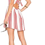 This red-and-white Forget Me Not Dress ($158) by Lovers + Friends x Revolve a great dress for a casual occasion.