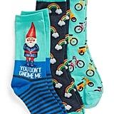 Hot Sox 3-Pack Gnome Socks