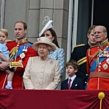 Trooping the Colour 2015? Time for another sweet snap of the two.