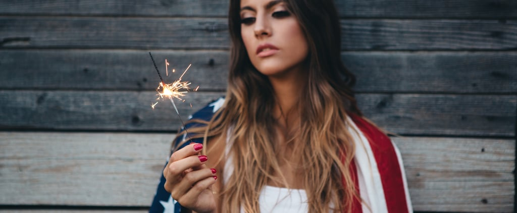 4th of July Nail Polish Colours
