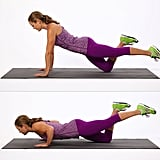 Upper Body: One-Legged Push-Up
