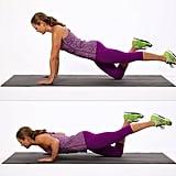 Upper Body: One-Legged Push-Up