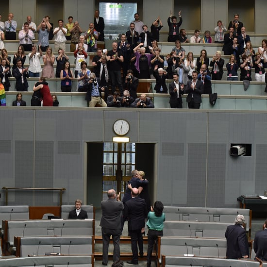 Singing in Parliament After Australia Gets Marriage Equality