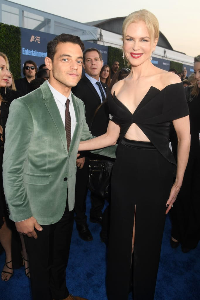 Rami Malek and Nicole Kidman at the Critics' Choice Awards 2016