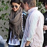 Selena Gomez chatted with William H. Macy.