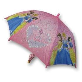 Disney Princess Girl's Pink Umbrella with 3D Handle ($9)