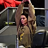 Kendall Jenner's I See Ghosts Sweatshirt 2018