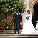 Princess Eugenie Wedding Shoes