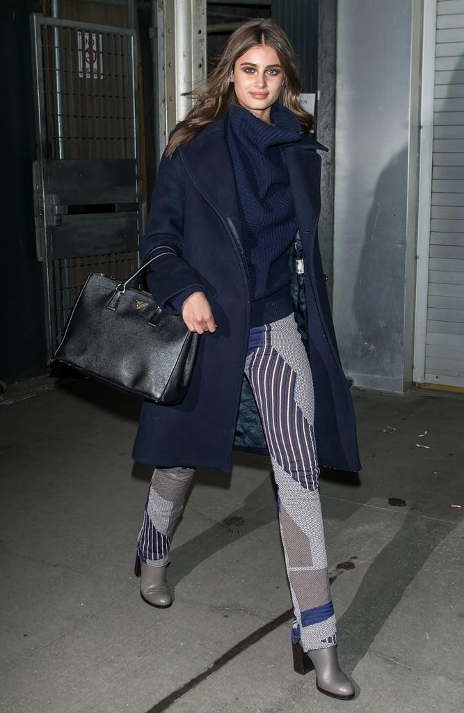 43d898d07a61 Taylor Hill wearing a Prada bag. | Victoria's Secret Models' Street ...