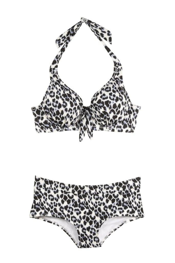 Sexy Snow Leopard Underwire Bikini ($48)