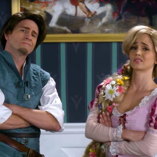 Rapuzel vs. Anna Disney Princess Rap Battle