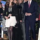 Pictures of Prince William and Kate Middleton at Christmas Celebration 2010-12-19 08:32:50