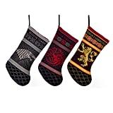 Knit Stocking Three-Pack: House Stark, House Lannister & House Targaryen