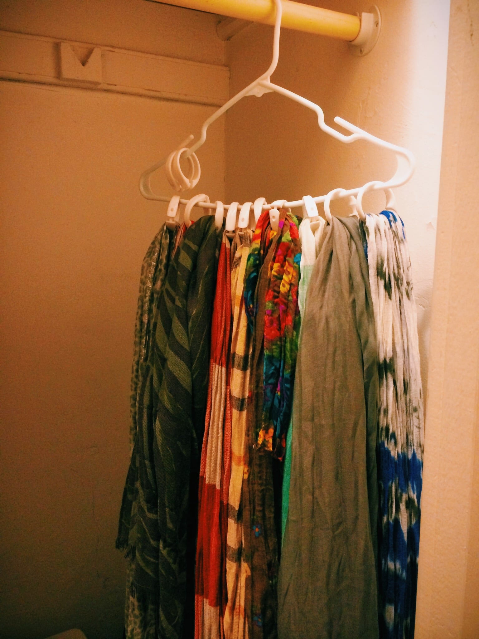 Use Shower Curtain Rings 14 Ways To Pull Your Scarves Out