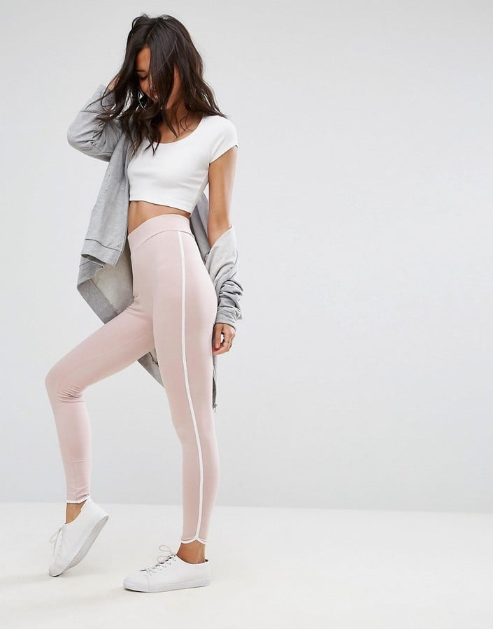 ASOS Leggings With Contrast Binding