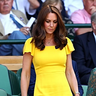 Kate Middleton Yellow Dress Wimbledon 2018