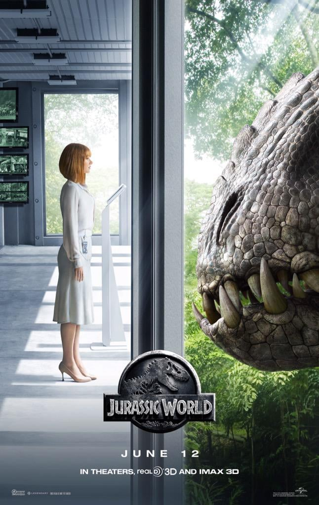 The New Jurassic World Poster Will Make Your Jaw Drop