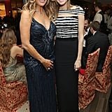 Rita Wilson chatted with Allison Williams.