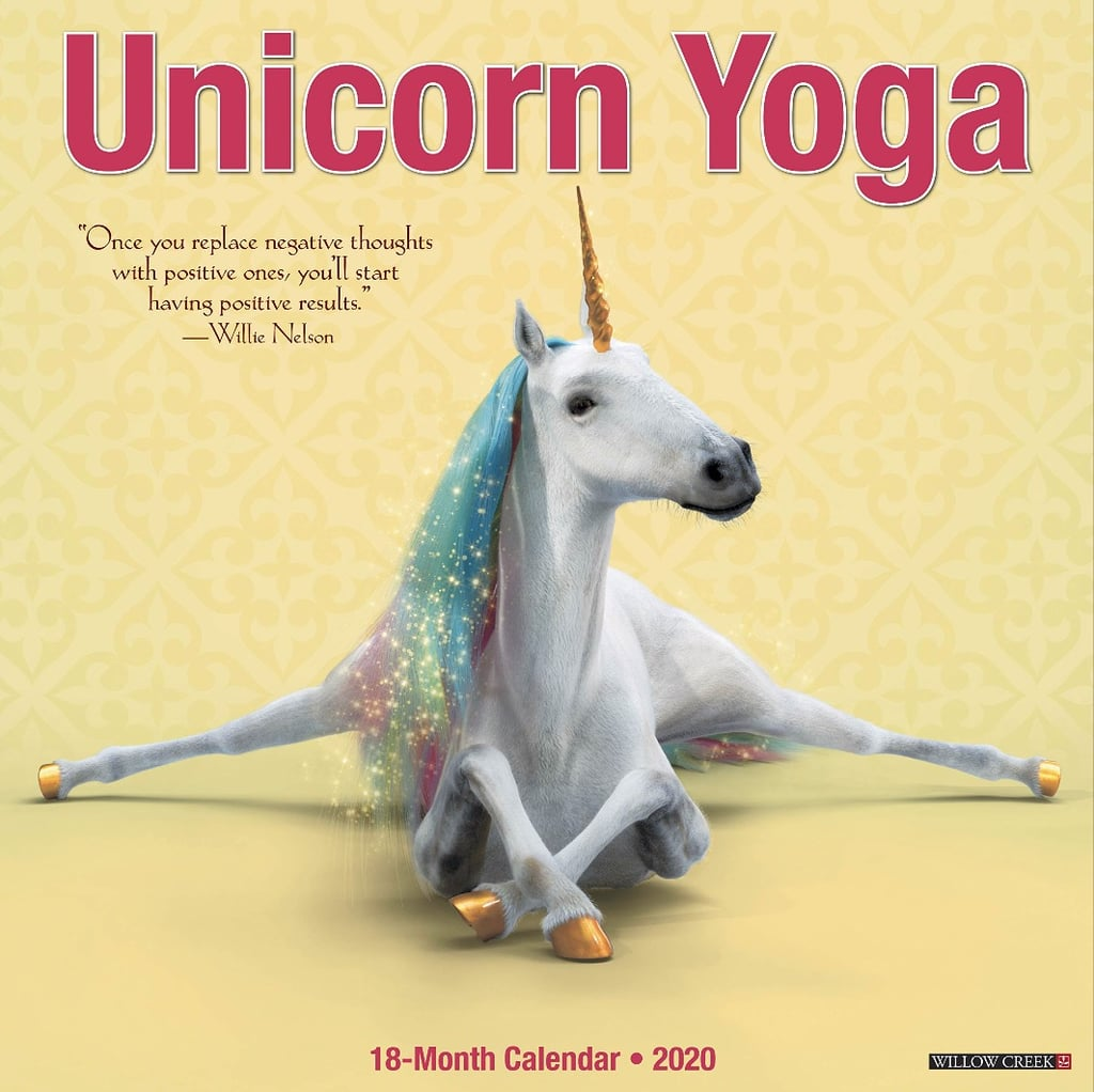 Unicorn Yoga 2020 Calendar