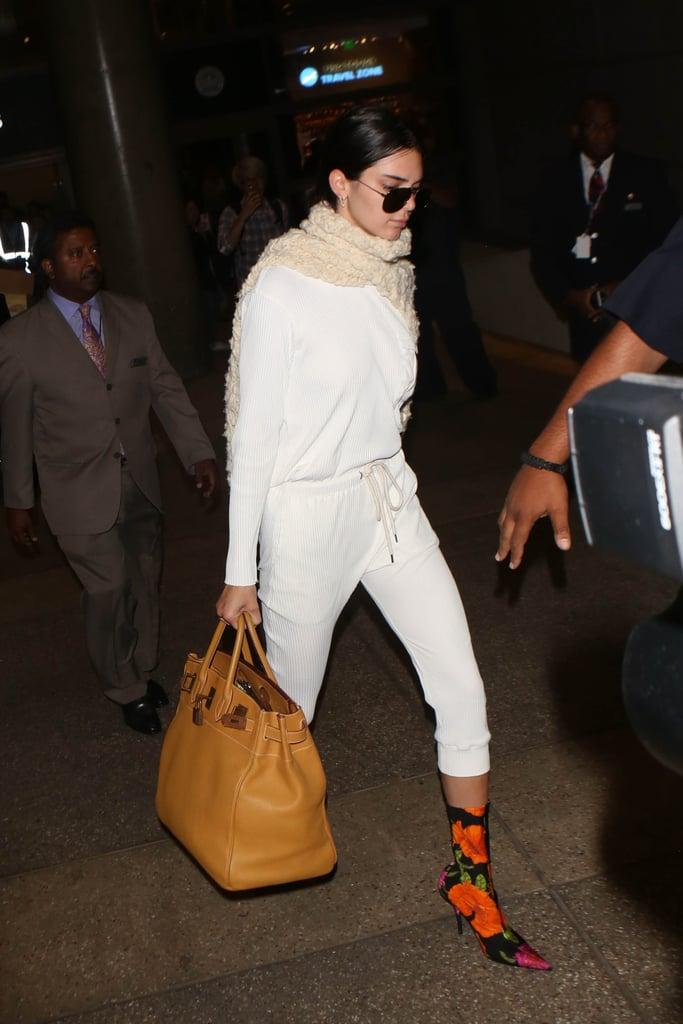 Kendall Jenner Carrying an Hermès Birkin Bag