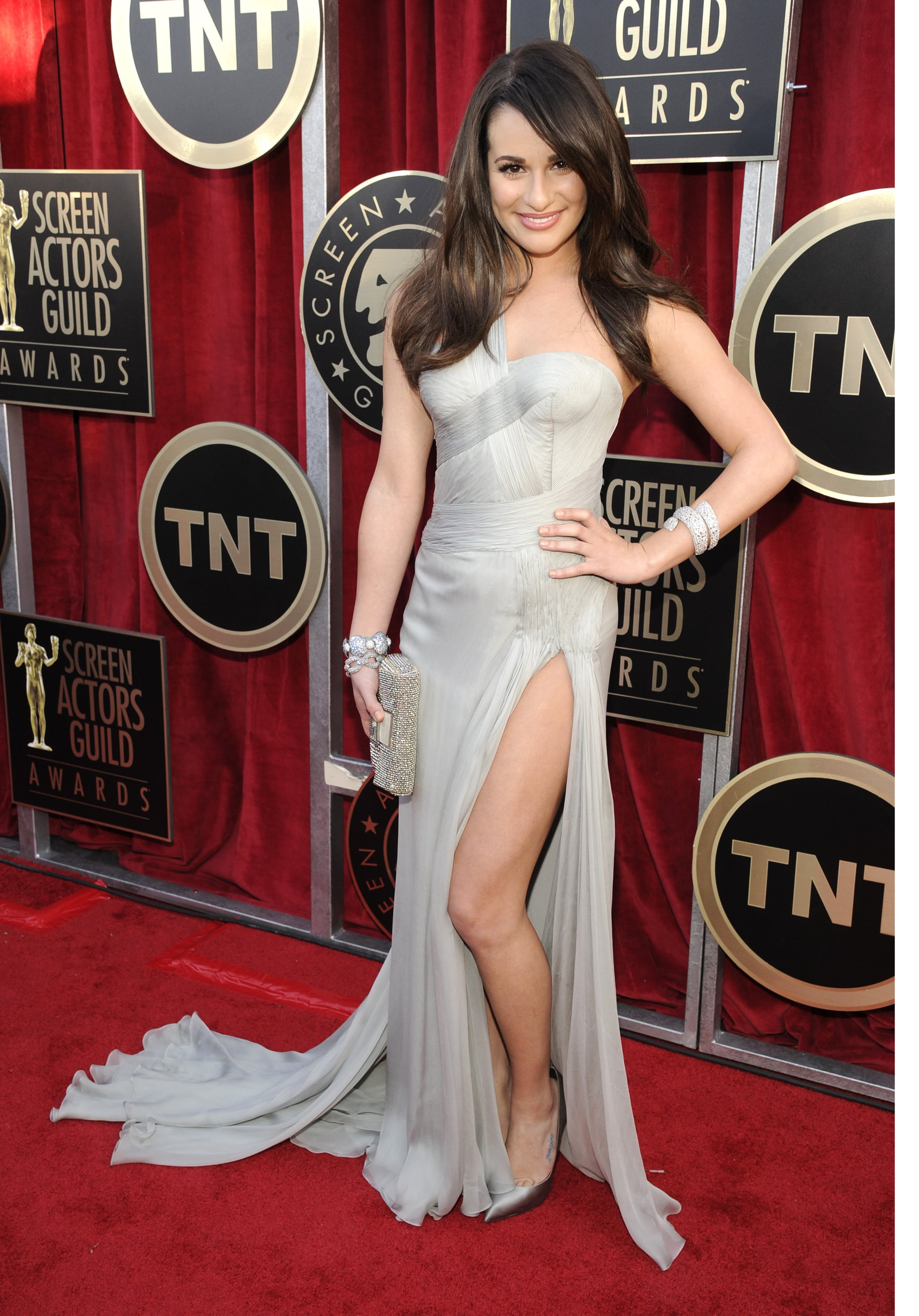 Lea Michele at the SAG Awards
