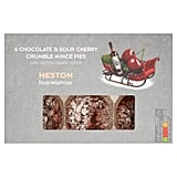 Heston Chocolate and Cherry Mince Pies