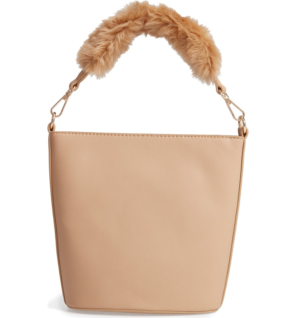6cdbe93b86 Leith Faux Fur Handle Medium Crossbody Bag