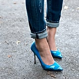 These heels were made for walking — and turning heads.