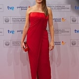 Penélope Cruz in Versace at the San Sebastian Film Festival