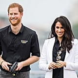 Prince Harry and Meghan Markle at the 2018 Invictus Games