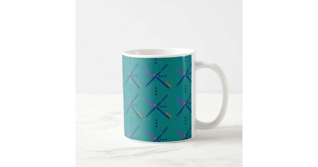 PDX carpet print mugs