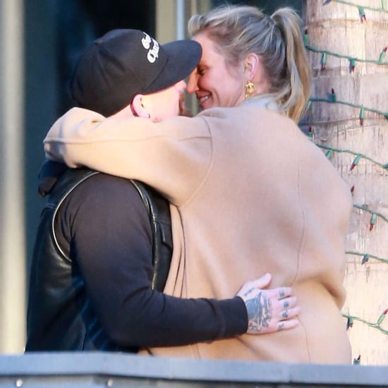 Cameron Diaz and Benji Madden Kissing in LA Dec. 2016