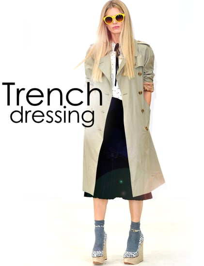 How to Wear a Trench Coat 2011